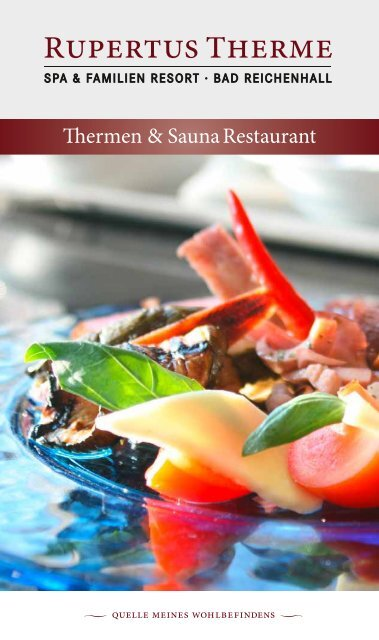 Thermen Sauna Restaurant