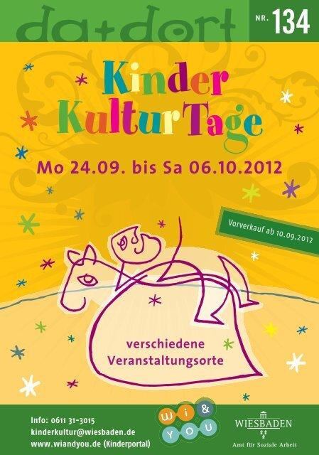 Kinderkulturtage Wiesbaden 2012 - Wiesbadenaktuell