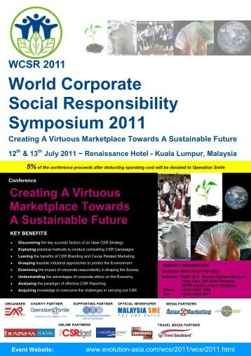 World Corporate Social Responsibility Symposium 2011