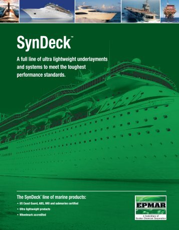 SynDeck™ - Quaker Chemical Corporation