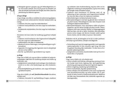 Sikkerhedshåndbog for anlægsgartnere - BAR - jord til bord.