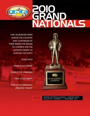 November 2010 - International Kart Federation