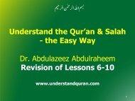 Do - Understand Quran