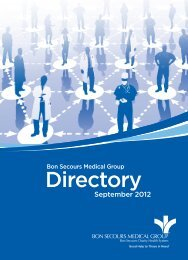 Directory - Good Samaritan Hospital