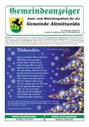 zum Gemeindeanzeiger - gemeinde-altmittweida.de