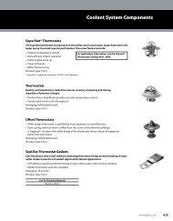 Coolant System Components - Gates Corporation