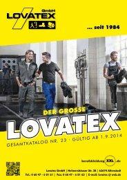 Der große LOVATEX Gesamtkatalog Nr. 23