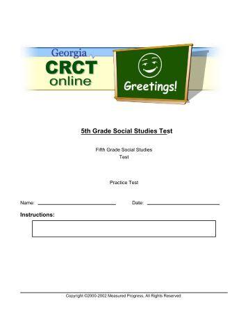 Social Sciences Questions - All Grades