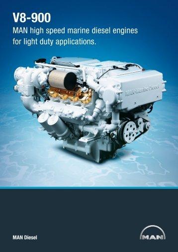 Engine description V8-900. - Houston Performance Diesel