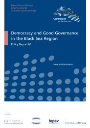 Democracy and Good Governance in the Black Sea ... - EurActiv.de