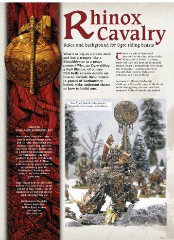 hinox Cavalry - Fichier PDF