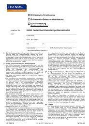 Onlineservice-Vereinbarung Onlineservice-Datanorm-Vereinbarung ...