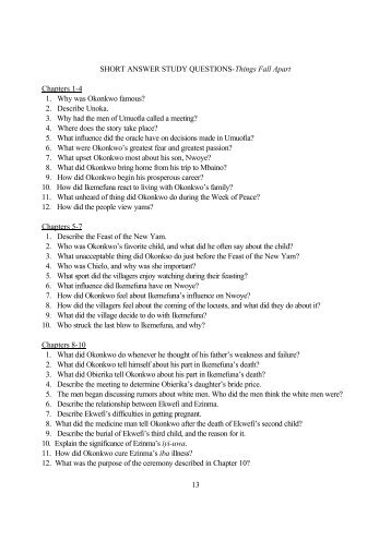 Brave New World Study Guide - Practice Test Questions ...
