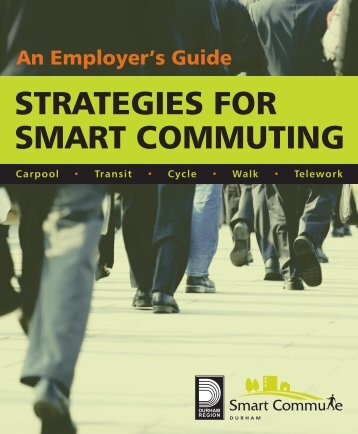 Strategies for Smart Commuting (PDF) - Smart Commute