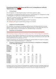Einstufungsrichtlinien für Damen und Herren in Leistungsklassen im ...