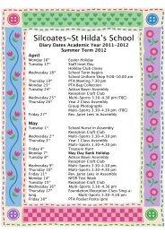 Silcoates~St Hilda's School - Silcoates School