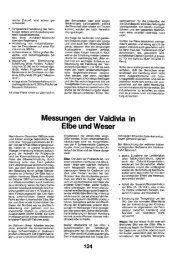 Messungen der Valdivia in Elbe und Weser - FRIEDENSBLITZ Copy ...