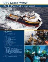 DSV Ocean Project - Oceaneering