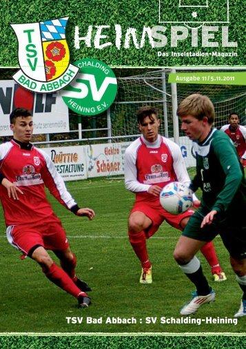 Inselmagazin 11/2011-12 - TSV Bad Abbach