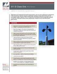 011 E-Class One Wind Sensor (2).pdf - Met One Instruments