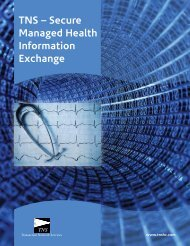 TNS – Secure Managed Health Information Exchange