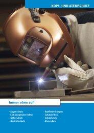 KOPF- UND ATEMSCHUTZ Immer oben auf - sudhoff technik GmbH