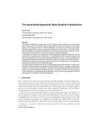 The Generalised Hyperbolic Skew Student's t-distribution