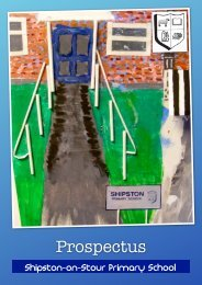 to download our Prospectus - Shipston on Stour Primary School