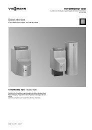 Dados Técnicos Vitorond 100 18-33 kW631 KB - gás, gasóleo ...