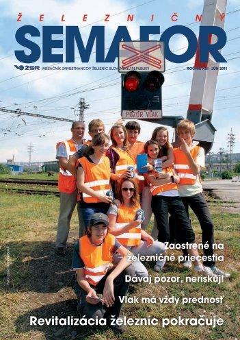 Jún 2011 - ŽSR