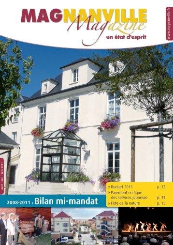 2008-2011 : Bilan mi-mandat - Magnanville