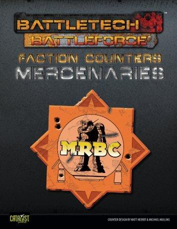 BattleTech: BattleForce Faction Counters - Mercenaries