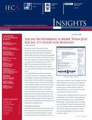 April/May Insights - IECA