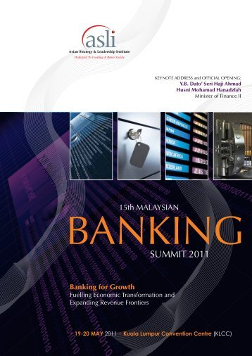 Banking for Growth - Asian Strategy & Leadership Institute