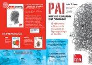 PAS PAI-A - TEA Ediciones