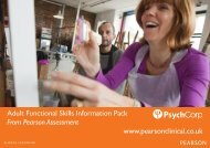 Download PDF - Pearson Assessment