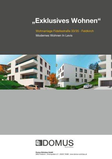 """Exklusives Wohnen"" ""Exklusives Wohnen"" - domus wohnbau"