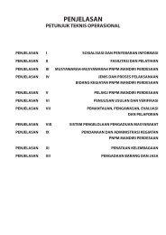 Penjelasan I PTO : Sosialisasi Program ... - psflibrary.org
