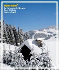 Le Hameau de Nendaz Four Valleys Switzerland - Ski chalets for sale