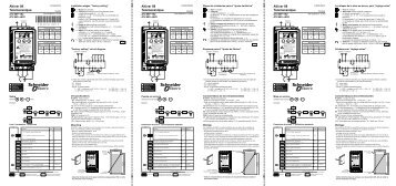 Page 1 I/O specifications R1A/R1C : Relay contact - Min. switching ...