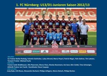 1. FC Nürnberg - jfgwittelsbacherland.de
