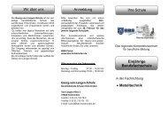 • Metalltechnik Wir über uns Anmeldung Ihre ... - BBS-Holzminden