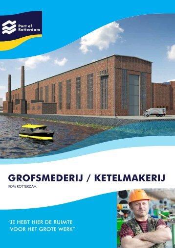 Brochure Grofsmederij