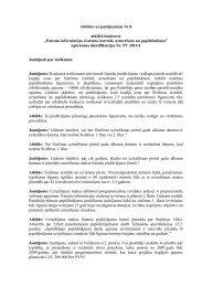 """Atbildes uz jautājumiem Nr.8 atklātā konkursa """"Patentu informācijas ..."""