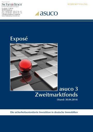 Exposé asuco 3 Zweitmarktfonds - Schmidtner GmbH