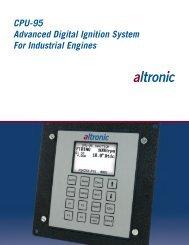CPU-95 Brochure - Altronic Inc.