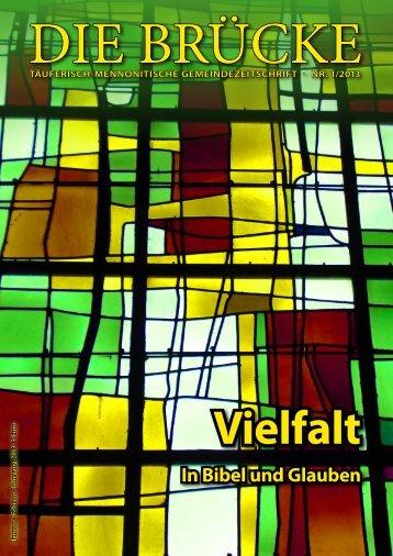 Vielfalt In Bibel und Glauben - Arbeitsgemeinschaft Mennonitischer ...