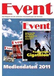 Event Schweiz - Ihr Event im Magazin EVENT!