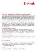 Event Schweiz - Ihr Event im Magazin EVENT! - Seite 2