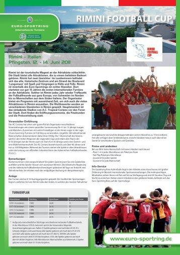 Rimini Football Cup Eurosportring